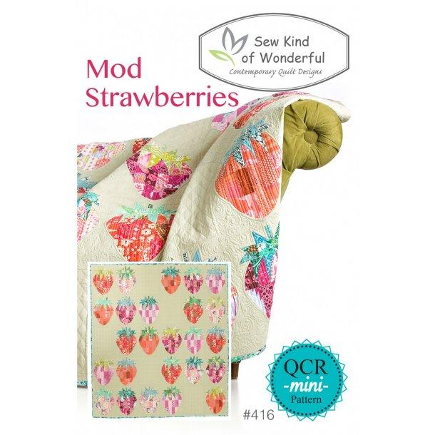 Mod Strawberries mønster