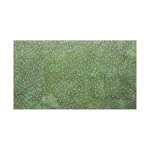 Mellemgrøn med prikker