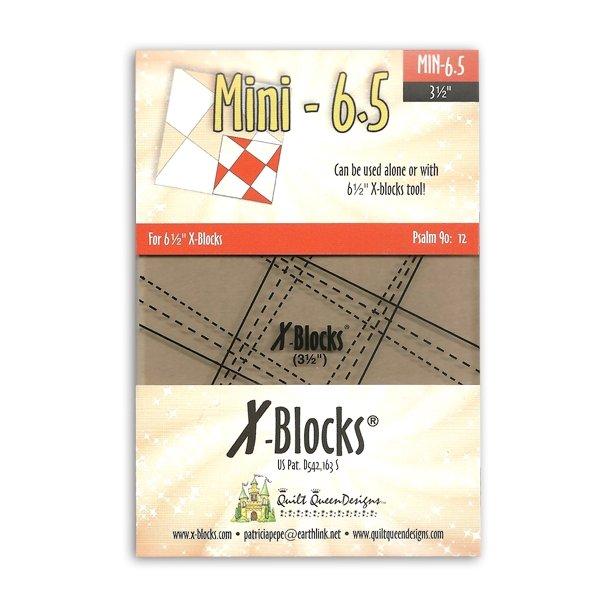 X blocks 6½ inch mini block