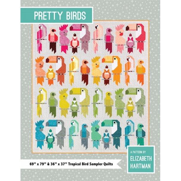 Pretty Birds mønster/bog